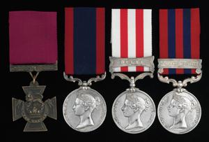 George Alexander Renny VC Medals