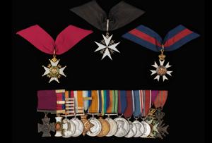 Lewis Pugh Evans Medals