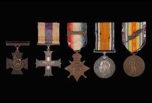 Arthur Forbes Gordon Kilby VC Medals
