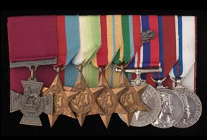 James Joseph Magennis Medals