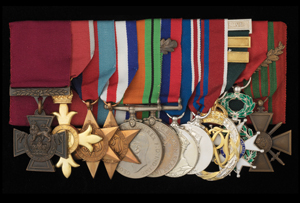 Augustus Charles Newman VC Medals